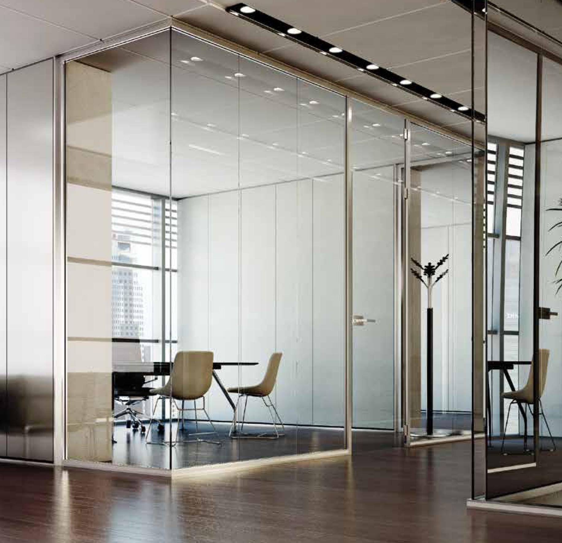 Pareti ventilate facciate continue pareti vetro - Mobili in cristallo ...